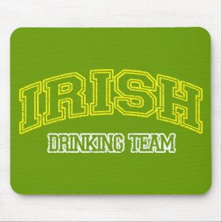 Irish Drinking Team Mouse Mats