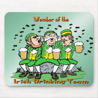 Irish Drinking Team Mouse Pad