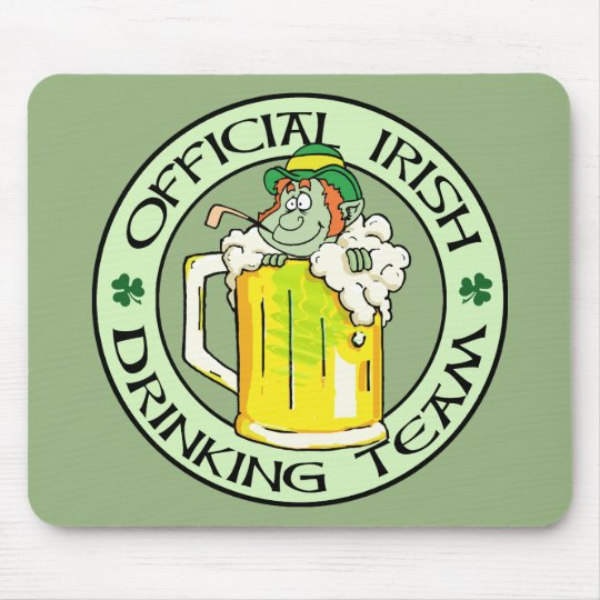 Irish Drinking Team Mouse Pad