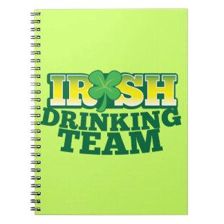 Irish Drinking TEAM Notebook
