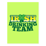 Irish Drinking TEAM Post Cards