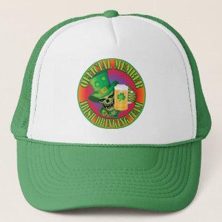 Irish Drinking Team Skull Trucker Hat