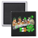 Irish Drinking Team St Patricks Day Fridge Magnets