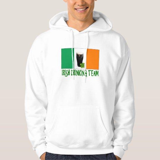 Irish Drinking Team St Patricks or St Paddys Flag. Hoodie