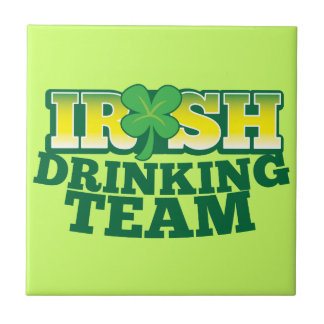 Irish Drinking TEAM Tiles