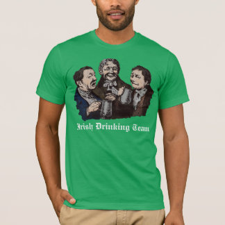 Irish Drinking Team Vintage Design t-Shirt