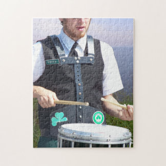 Irish Drummer Jigsaw Puzzle