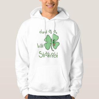 Irish-Drunk as Shamrock Hoodie