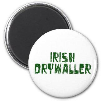 Irish Drywaller Refrigerator Magnet