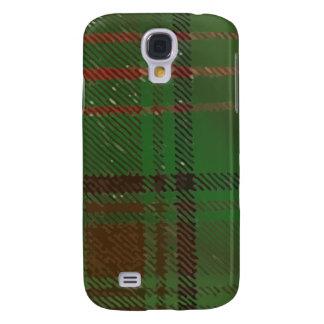 Irish Dublin Plaid Tartan Galaxy S4 Case