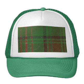 Irish Dublin Plaid Tartan Trucker Hat