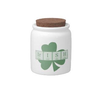 Irish [Elements] Candy Dishes