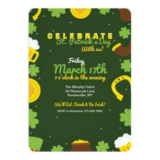 Irish Elements Invitation