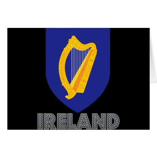 Irish Emblem Greeting Card