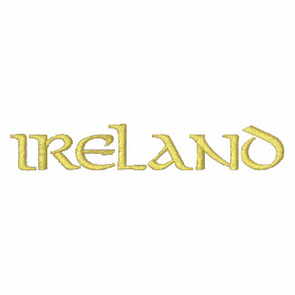Irish Embroidered Track Jacket