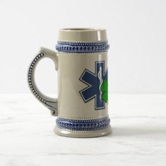 Irish EMT 18 Oz Beer Stein