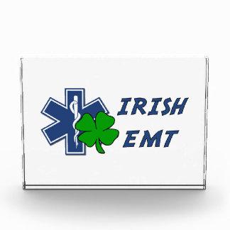 Irish EMT Acrylic Award
