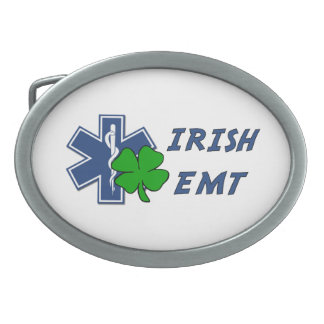 Irish EMT Belt Buckle