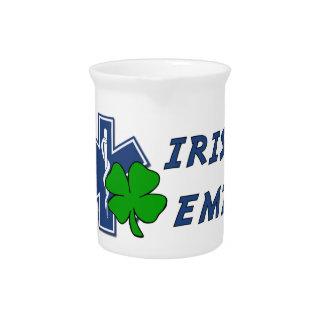 Irish EMT Beverage Pitcher