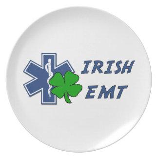 Irish EMT Dinner Plate