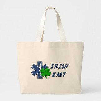 Irish EMT Jumbo Tote Bag