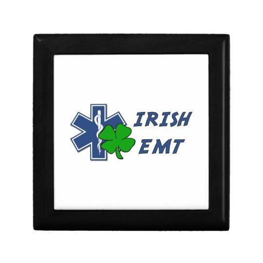 Irish EMT Keepsake Box