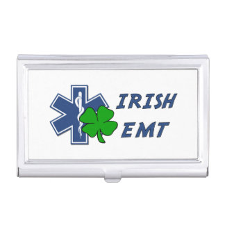 Irish EMT Pride Case For Business Cards