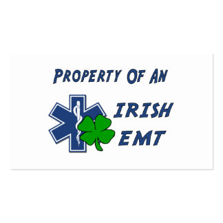 Irish EMT Property Double-Sided Standard Business Cards (Pack Of 100)
