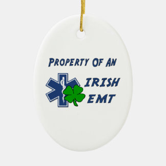 Irish EMT Property Ceramic Ornament