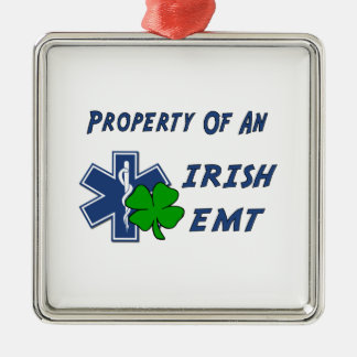 Irish EMT Property Metal Ornament