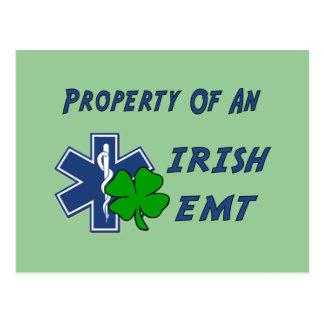 Irish EMT Property Postcard