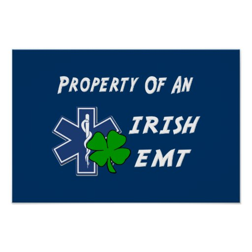 Irish EMT Property Poster
