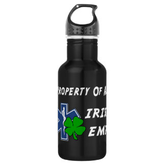 Irish EMT Property Stainless Steel Water Bottle