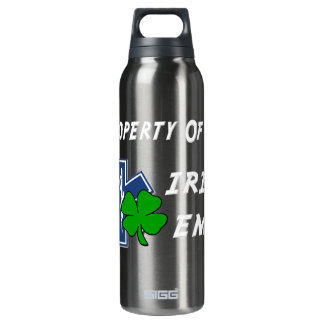 Irish EMT Property Thermos Water Bottle