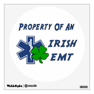 Irish EMT Property Wall Sticker