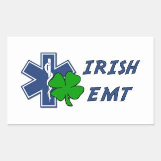 Irish EMT Rectangular Sticker