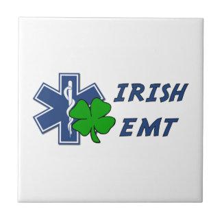 Irish EMT Small Square Tile
