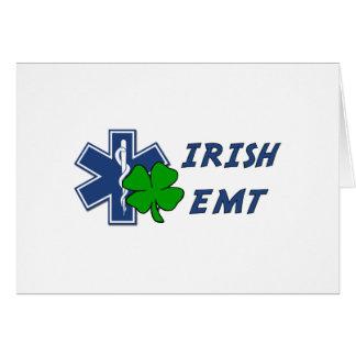 Irish EMT Stationery Note Card