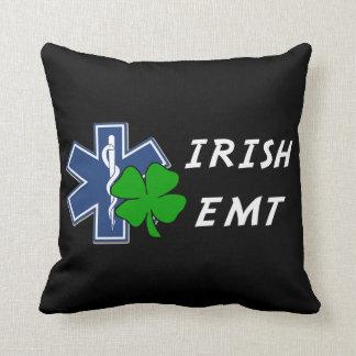 Irish EMT Throw Pillow
