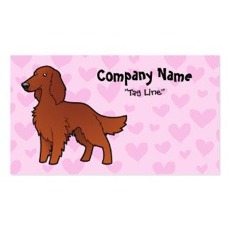 Irish / English / Gordon / R&W Setter Love Business Card
