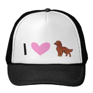 Irish / English / Gordon / R&W Setter Love Trucker Hat