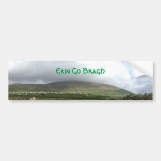 Irish Erin Go Bragh Ireland Bumper Sticker