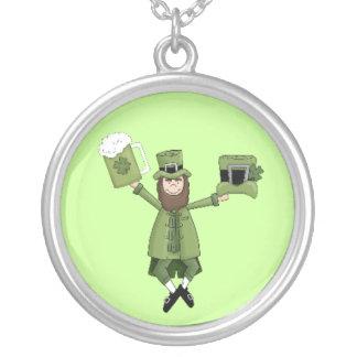 Irish Esentials Round Pendant Necklace
