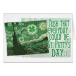 Irish everyday was St. Patrick's Day Gear Card