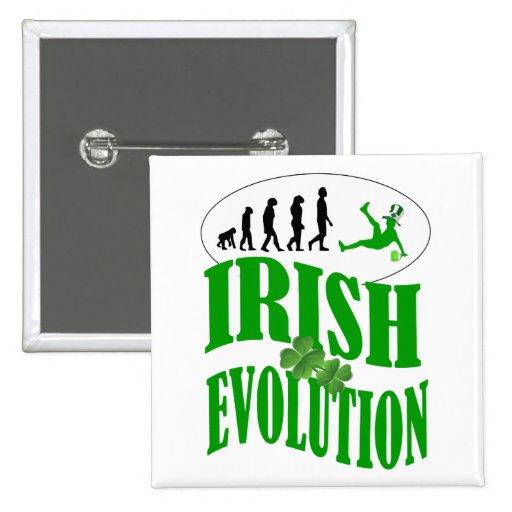 Irish evolution button