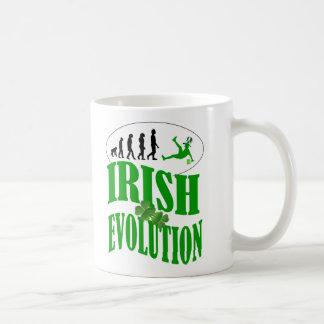 Irish evolution coffee mug