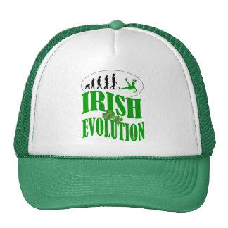 Irish evolution trucker hat