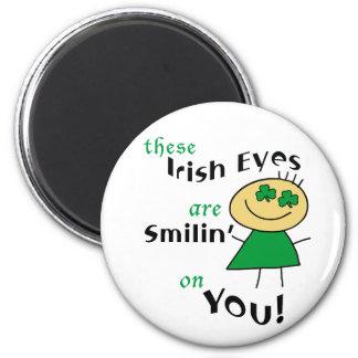 Irish Eyes are Smiling Gifts Fridge Magnets