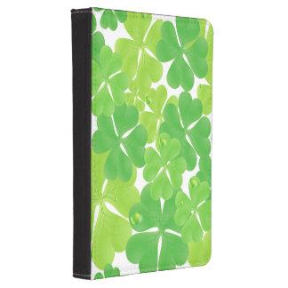 Irish Fab Shamrock Design Kindle 4 Cover