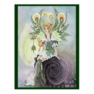 Irish Faery Postcard